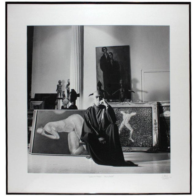 1980s 1987 Geoffrey Holder Photograph by Lance Evans For Sale - Image 5 of 6