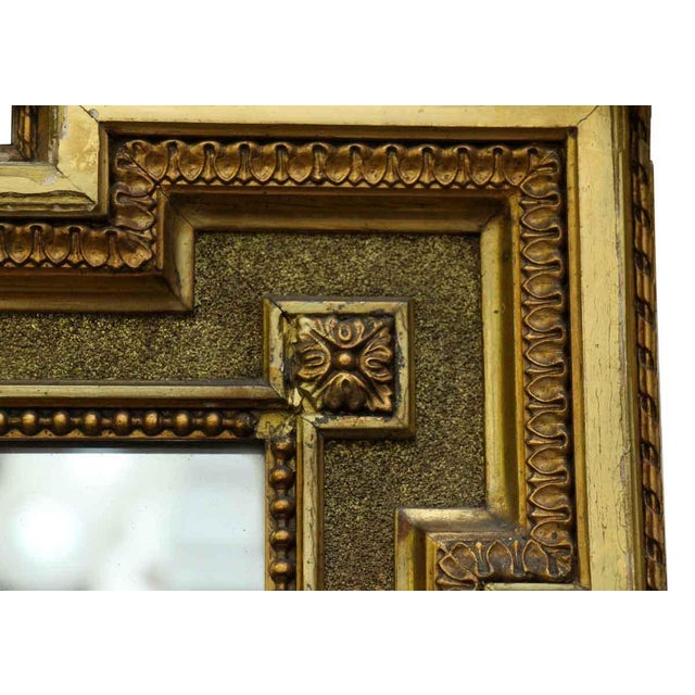 French Victorian Carved Gilt Wood Mirror For Sale In New York - Image 6 of 9