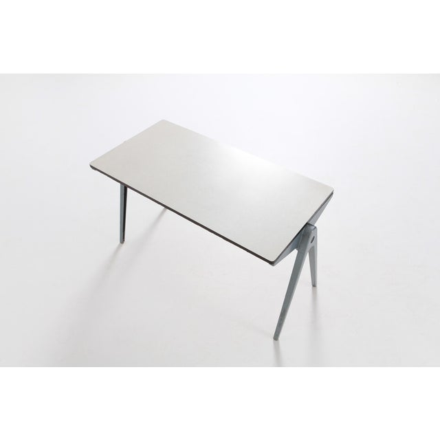 Industrial Writing Desk Table With Chairs for Kids by James Leonard for Esavian For Sale - Image 9 of 13
