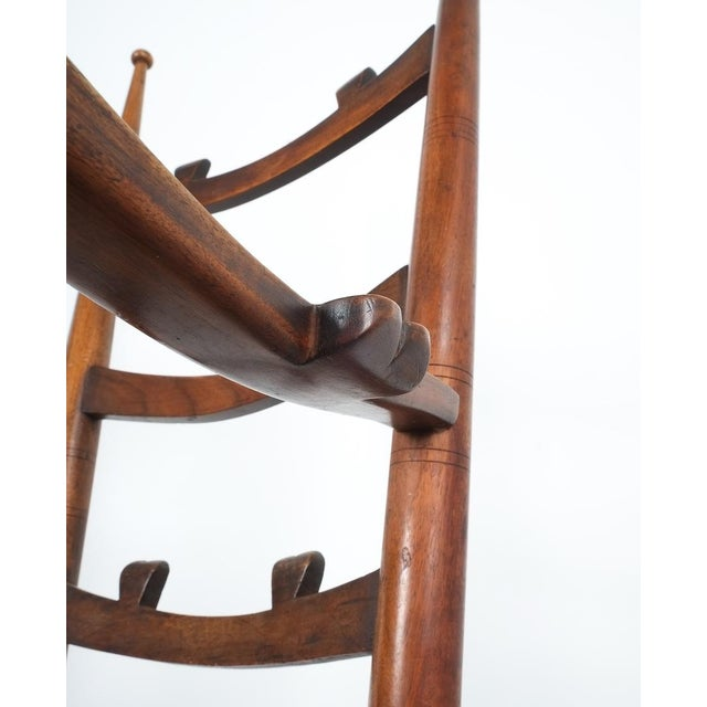 Wood Armchair Attributed to Paolo Buffa, Possible Made by Marelli, Circa 1948 For Sale - Image 7 of 13