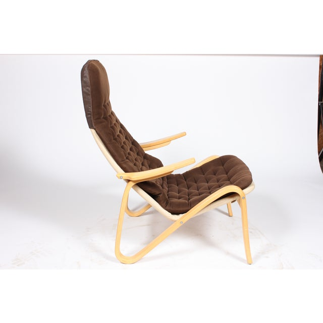 Mid-Century Modern Bruno Mathsson Dux Pernilla Chair For Sale - Image 3 of 6