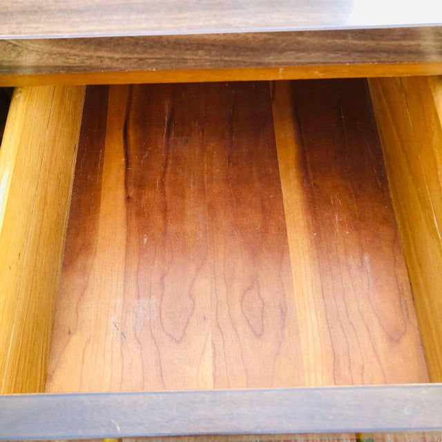 Mid-Century Modern Custom Made Filing Cabinet/Credenza For Sale In Charleston - Image 6 of 11