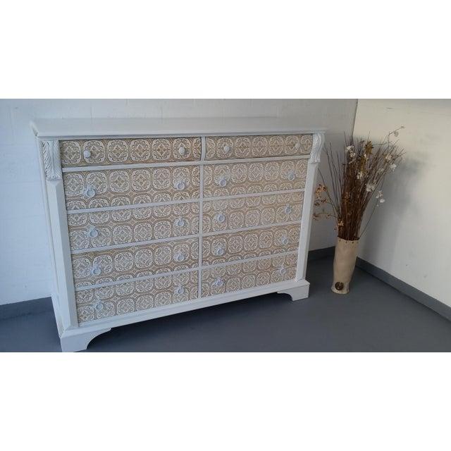 Pennsylvania House 10-Drawer Dresser - Image 7 of 10