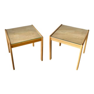 Set of Mid Century Modern Danish Side Tables For Sale