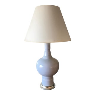 Christopher Spizmiller Blue Table Lamp