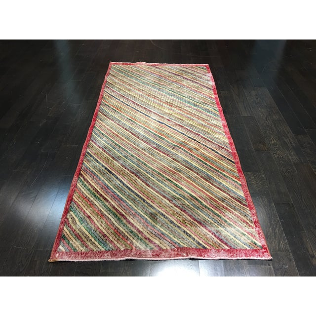 "Zeki Muran Turkish Rug - 3'11"" x 8'4"" - Image 2 of 8"