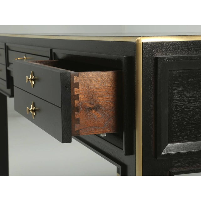 Jacques Adnet Inspired Desk For Sale - Image 4 of 10