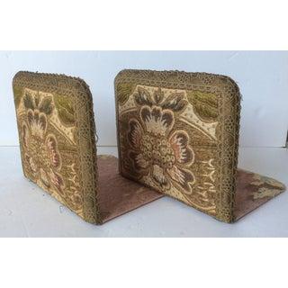 Antique Textile Bookends - A Pair Preview