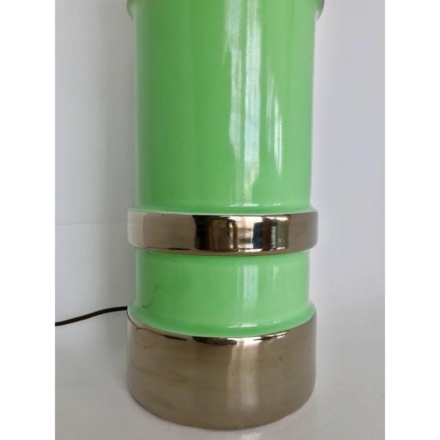 Gilt Ceramic Table Lamp - Image 3 of 8