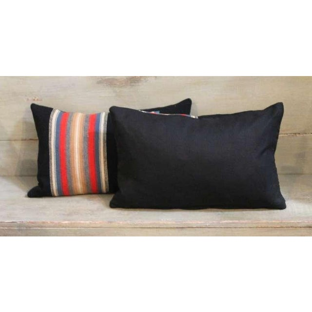 Primitive Pair of Rio Grande Vallero Woven Pillows For Sale - Image 3 of 5