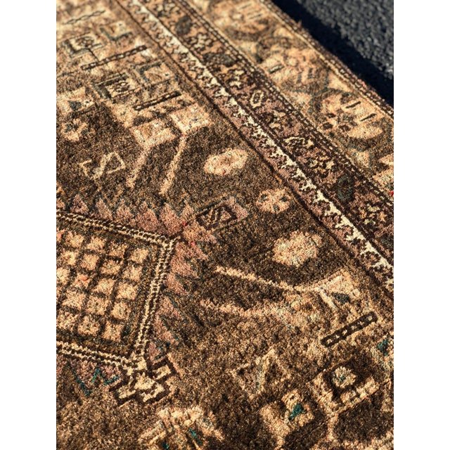 1950s Vintage Persian Sarab Runner - 3′1″ × 10′6″ For Sale - Image 9 of 13