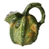 Image of 1970s Vintage San Marco Italy Harvest Pumpkin Pitcher For Sale