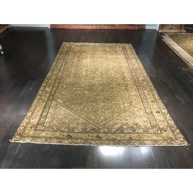 Antique Persian Malayer Runner Rug - 6′7″ × 9′10″ - Image 2 of 9
