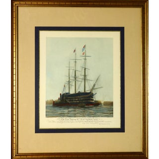 """""""The Last Journey of Victory"""" Color Lithograph (31""""x37"""") by W. L. Wyllie & Harold Wyllie, 1922 For Sale"""
