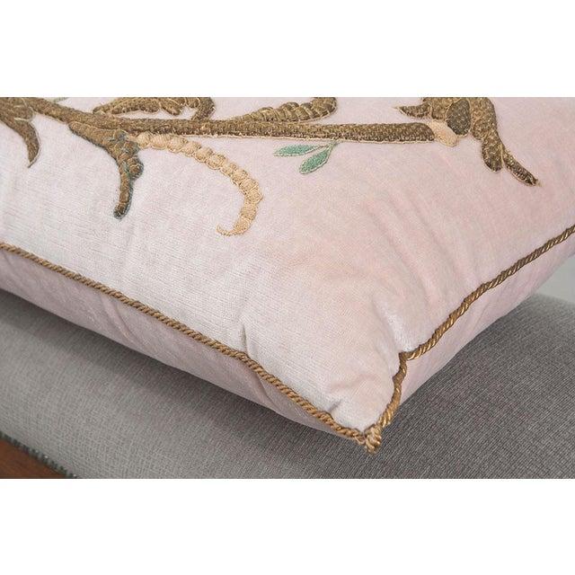 Antique Textile Pillow By B.Viz Designs - Image 5 of 7