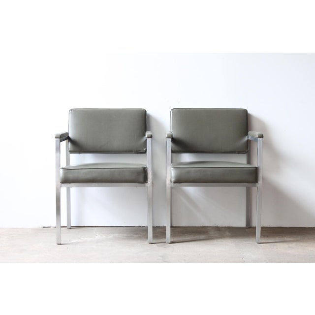 Peerless Chrome Sitting Chair - Pair - Image 2 of 4