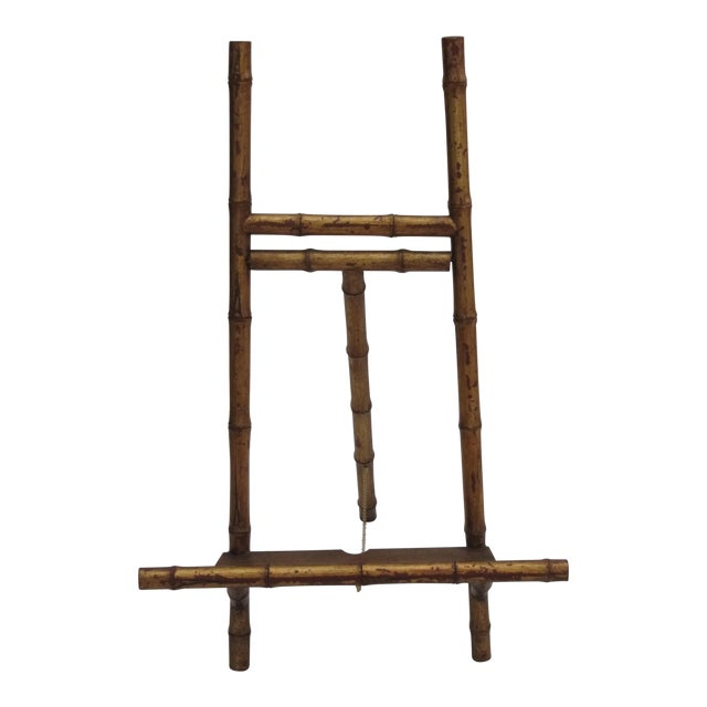 Transitional Large Florentine Style Bamboo Easel - Image 1 of 10
