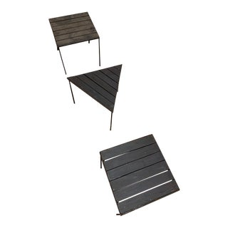Frederick Weinberg Side Tables - Set of 3 For Sale
