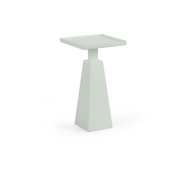 Transitional Casa Cosima Hayes Spot Table, Gray Cashmere For Sale - Image 3 of 3