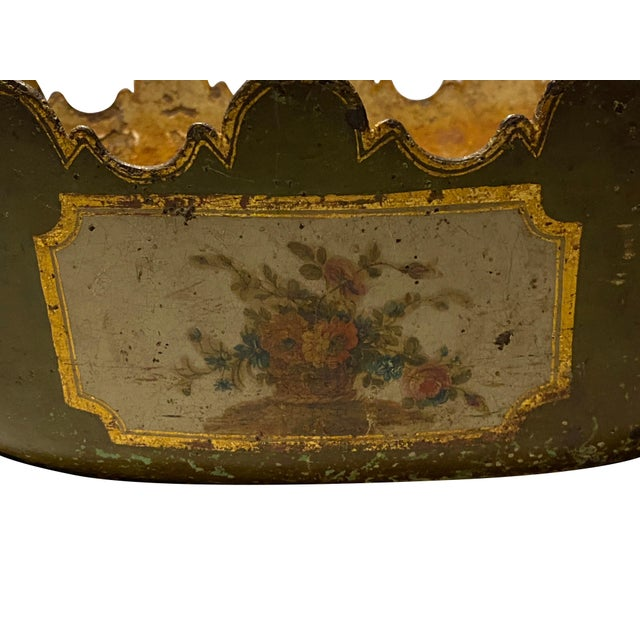 """Louis XVI Tole Monteith """"Verriere"""" For Sale - Image 10 of 11"""