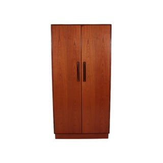 Mid Century G Plan Fresco Teak Wardrobe Armoire For Sale