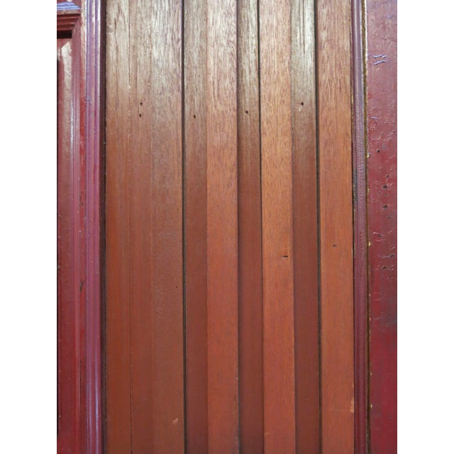 Antique Chinese Hand Carved Wooden Doors - a Pair For Sale - Image 11 of 11