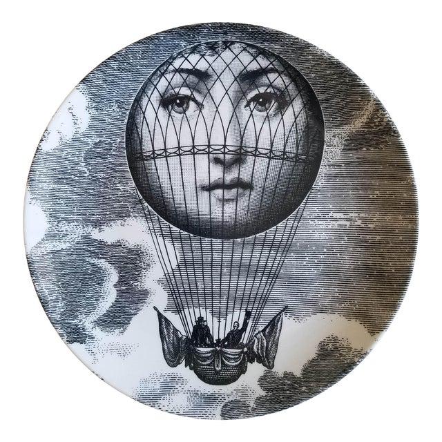 Piero Fornasetti Tema E Variazioni Plate, #131 of Lina Cavalieri's Face - Image 1 of 2