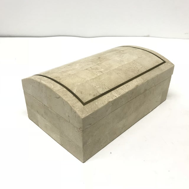 Maitland-Smith Tesselated Stone Box For Sale In San Francisco - Image 6 of 6