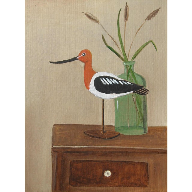Avocet Shorebird Still Life - Image 3 of 3