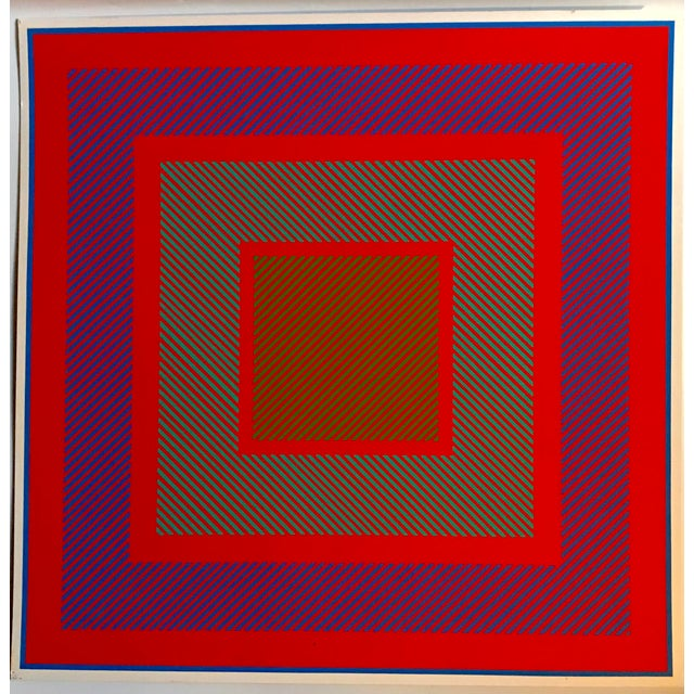 Richard Anuszkiewicz Op Art Signed For Sale - Image 9 of 9