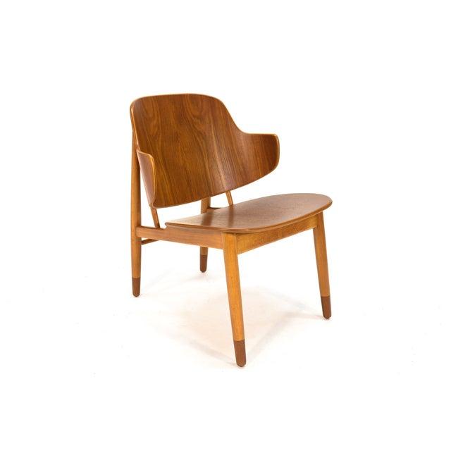Kofod Larsen Teak Shell Lounge Chair - Image 3 of 7