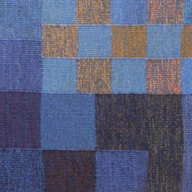 Vintage Scandinavian Square Rug by Karin Jonsson - 6′7″ × 6′7″ For Sale In New York - Image 6 of 7