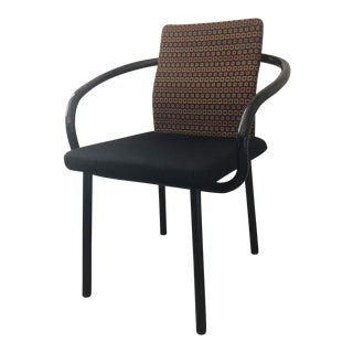 1990s Vintage Knoll Ettore Sottsass Mandarin Chair For Sale