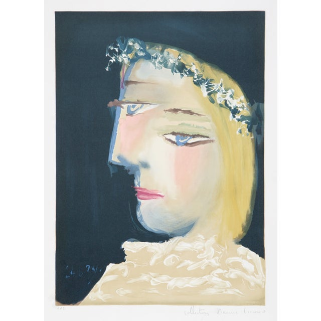 Pablo Picasso, Blanche Couronee, Lithograph For Sale