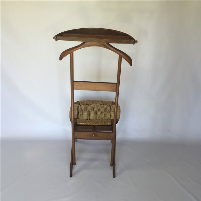Danish Style Valet Chair For Sale - Image 4 of 5