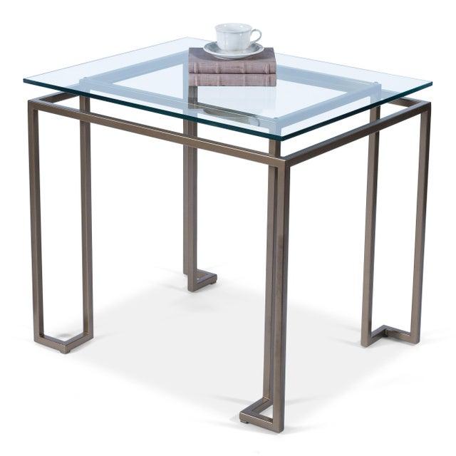 Sarreid Ltd. Sarreid Bartlet Side Table For Sale - Image 4 of 5