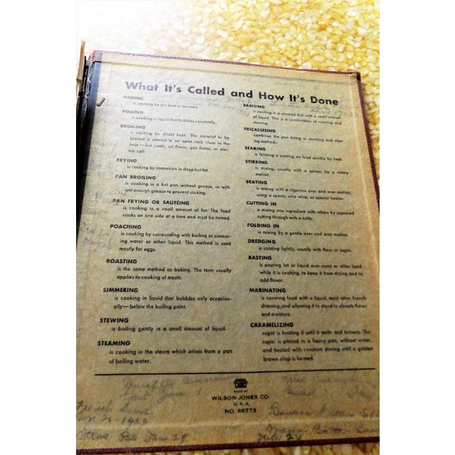1930s Leather Bound Grocery Store Cookbook - Image 8 of 9