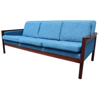 Vintage Danish Mid-Century Rosewood Sofa