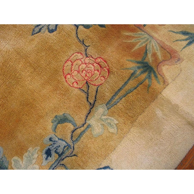 Antique Chinese Art Deco Rug-11′6″ × 16′8″ For Sale - Image 4 of 7