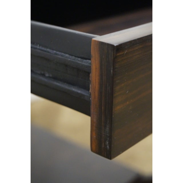 Jonathan Charles 1 Drawer Directoire End Table - Image 7 of 10