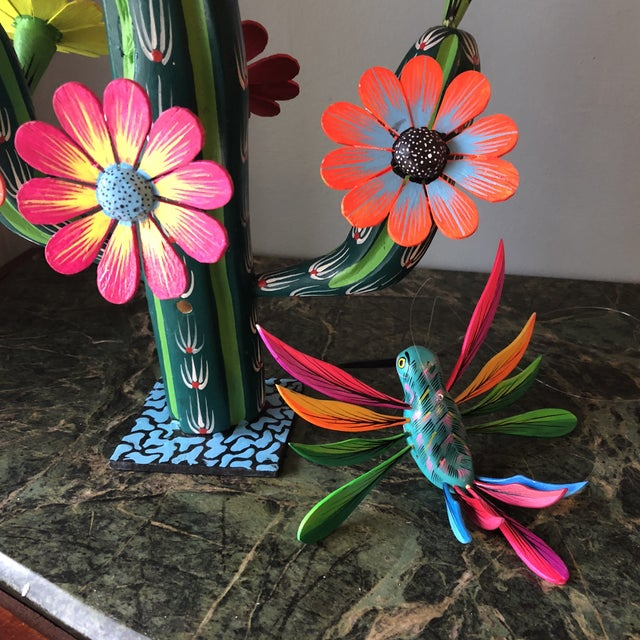 1930s Mexican Hand Carved Alebrijes - a Pair For Sale - Image 5 of 10
