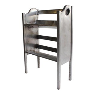 Simmons Industrial Metal 2-Tier Magazine/Book Holder