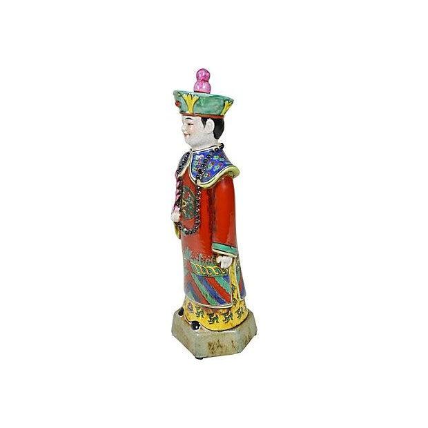 Vintage Chinese Ceramic Couple - Image 3 of 5