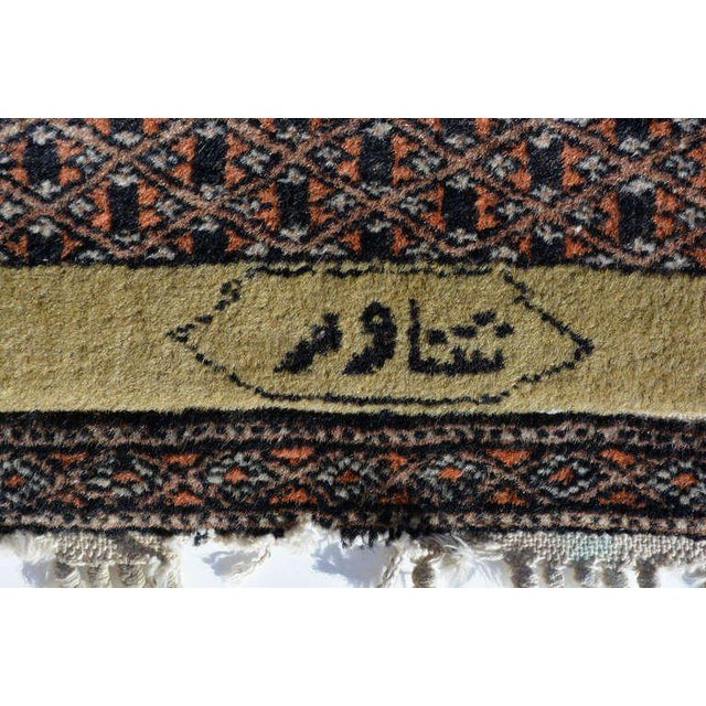 For your consideration a beautiful Persian rug with amazing colors and pattern. Signed, circa 1940.