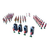 Image of 1960s Vintage Britain's Changing of the Guard Toy Soldiers No. 9424 - Set of 85 For Sale