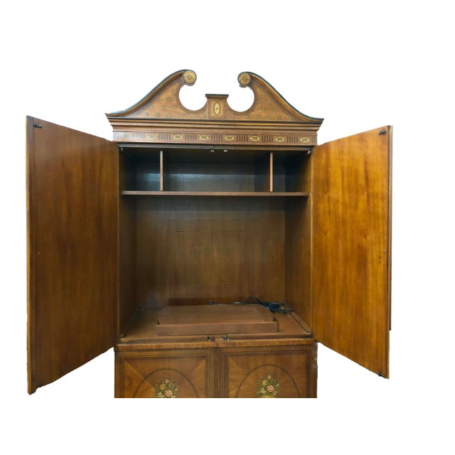 Vintage Drexel Heritage French Country Armoire For Sale - Image 6 of 9