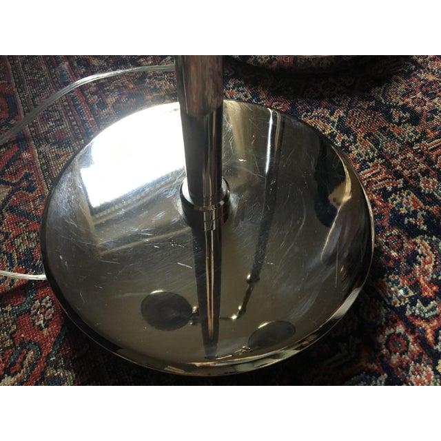 Ralph Lauren Polished Nickel Floor Lamps - A Pair - Image 9 of 10