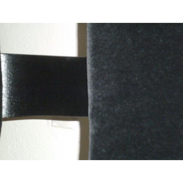 Vintage Black on Black Mohair Thonet Chair - Image 7 of 8