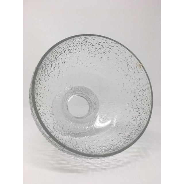 Mid 20th Century Timo Sarpaneva Kekkerit Footed Glass Bowl for Iittala Finland For Sale - Image 11 of 12