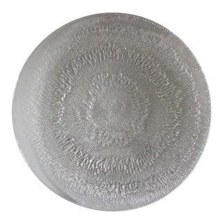 Iittala Finland Solaris Platter Torte Plate Tapio Wirkkala Danish Modern Crystal For Sale